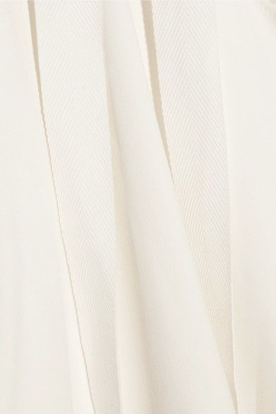 Joseph - Penn Stretch-crepe Top - White - FR