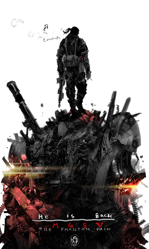 MGS5 The Phantom Pain promo wallpaper