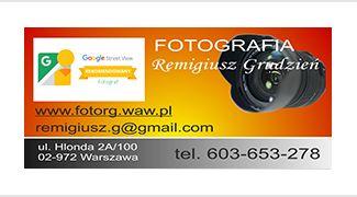 FOTOGRAFIA Remigiusz Grudzień wirtualne wycieczki Street View bezpośrednio na Mapach Google