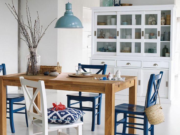 Les 25 meilleures id es de la cat gorie salle manger bord de mer sur pinterest salle de for Cuisine style bord de mer