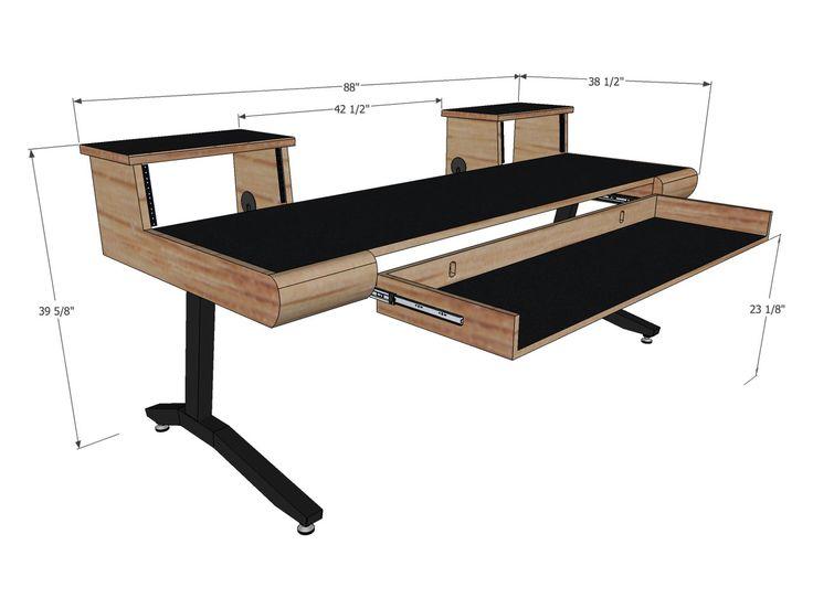 Scs keyboard desks 88 key desks key and construction for Studio design muebles