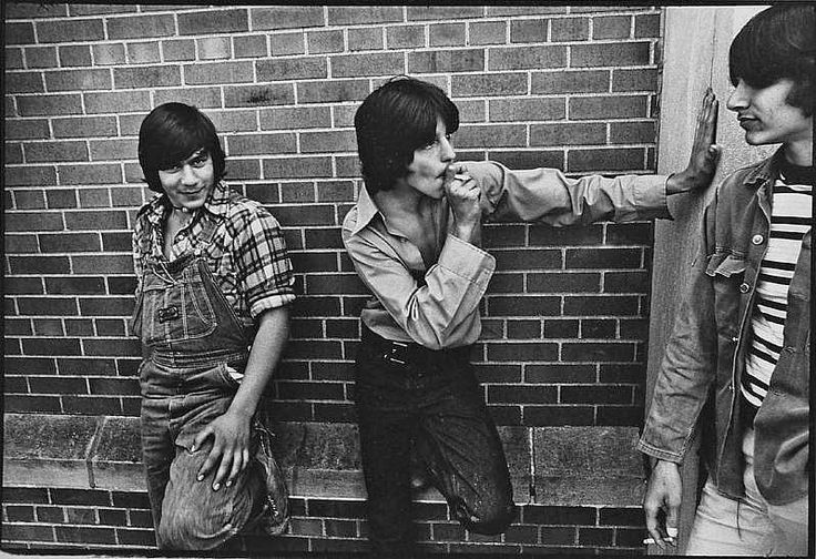Black and White Photographs of New York's Teenagers in the 1970s