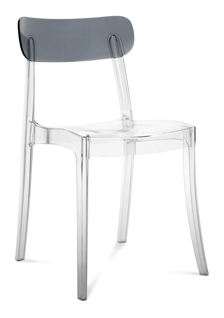 Mode Clear + Grey Top Chair
