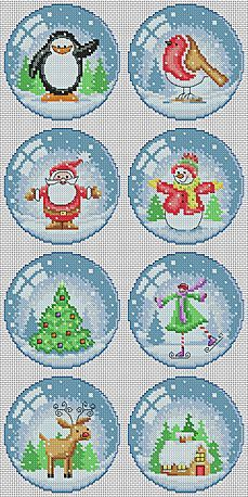Lucie Heaton Cross Stitch Patterns - Instant Download