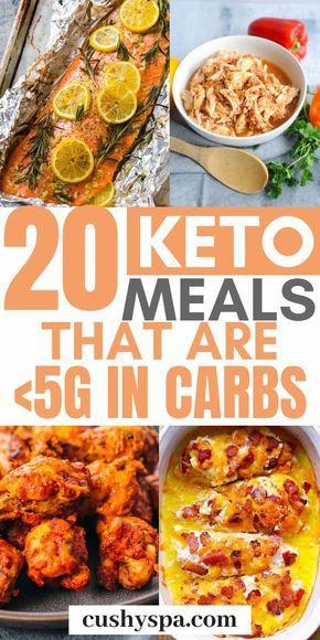Diese Keto-Gerichte enthalten sehr wenig Kohlenhydrate – weniger als 5 g Kohlenhydrate pro Portion. Das Meer…