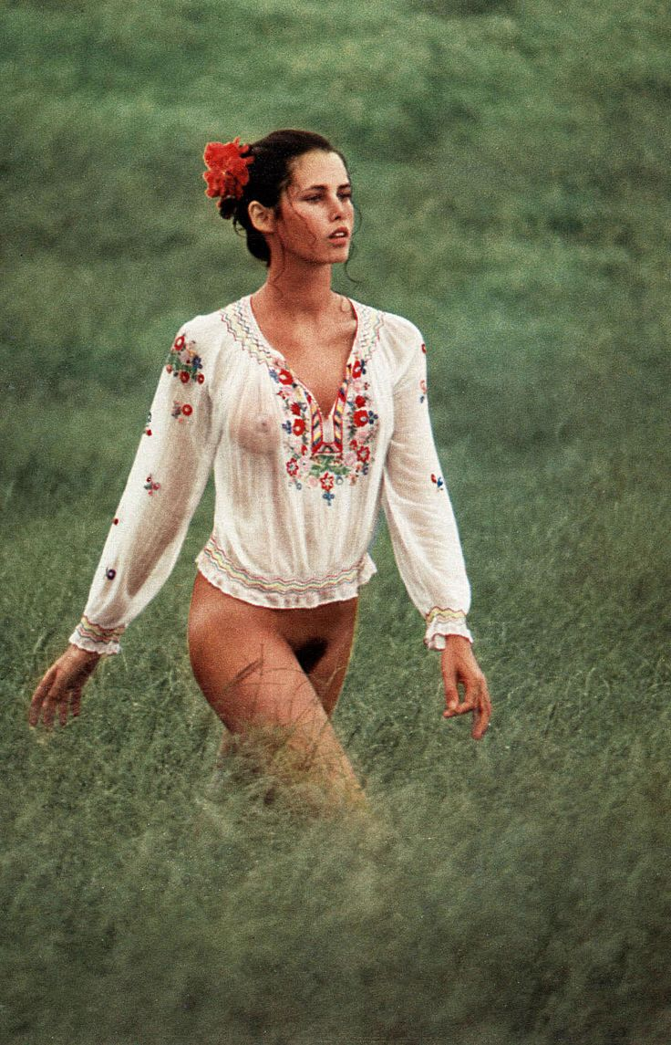 Dayle Haddon aged 25 for Playboy Germany  1973