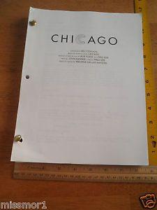 chicago movie script - Google Search
