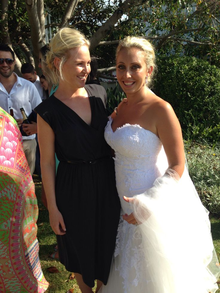 I meet to many great people through my work as a celebrant. Here I am with the lovely Natasha after her January 2014 Palm Beach wedding ceremony. www.clairebelford.com.au