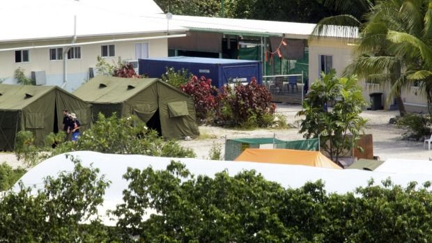 June 20, 2015 - 11:01PM The detention centre on Nauru. The detention centre on Nauru. Photo: Angela Wylie Security guards at Australia's detention centre on Nauru allegedly circulated videos of the... http://winstonclose.me/2015/06/21/nauru-guards-paid-for-sex-with-asylum-seekers-and-filmed-it-social-worker-claims-written-by-eamonn-duff-and-adam-gartrell/