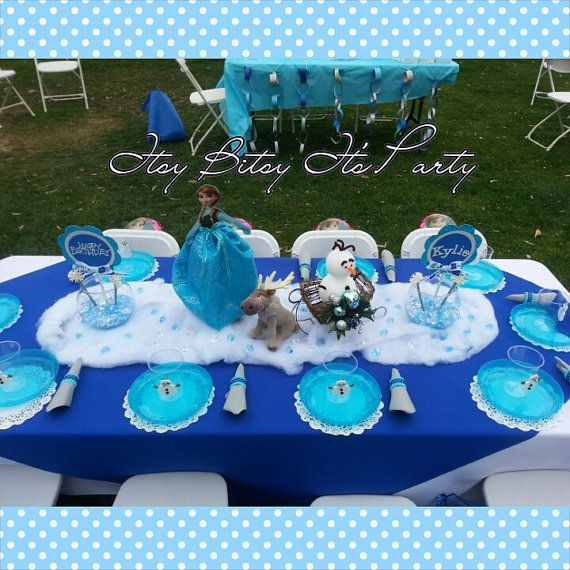 129 best Frozen party ideas images on Pinterest Birthdays Frozen