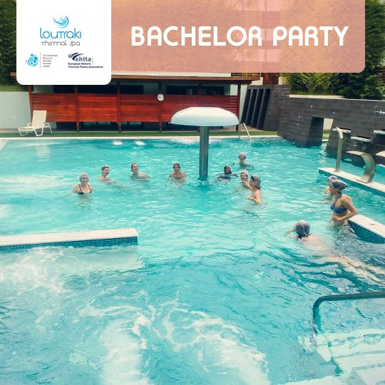 Bachelor Spa Party στο Loutraki Thermal SPA! Διοργανώστε τα πιο πρωτότυπα πάρτυ ομορφιάς, επιλέγοντας θεραπείες και υπηρεσίες χαλάρωσης της προτίμησής σας και ζήστε μοναδικές στιγμές αναζωογόνησης και ευεξίας για σας και τις φίλες σας.