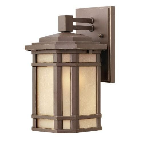 Hinkley Lighting 1270-LED 11 Height LED Outdoor Lantern Wall Sconce from the Cherry Creek Collection (B