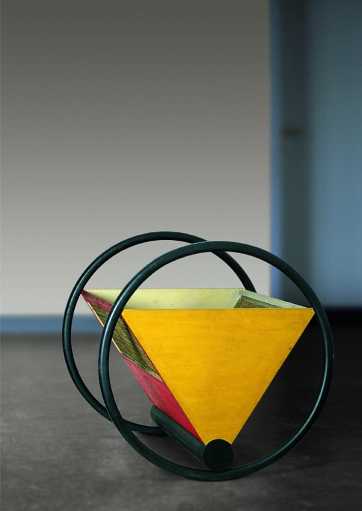 This Cradle was designed by Peter Keler in 1922 and was inspired by the mural art of Wassily Kadinsky. It was designed as an assignment to Keler by Walter Groepius during his time at the Bauhaus. This design combined art and functional elements which makes it an important example of constructivism. It uses multiple simple shapes to create a complex product, this promotes profitable manufacturing.   C, Knowles, 2015. Bauhaus Cradle. [Online]…