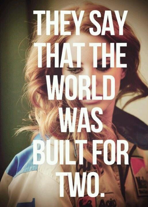 Lana Del Rey- they say . . .