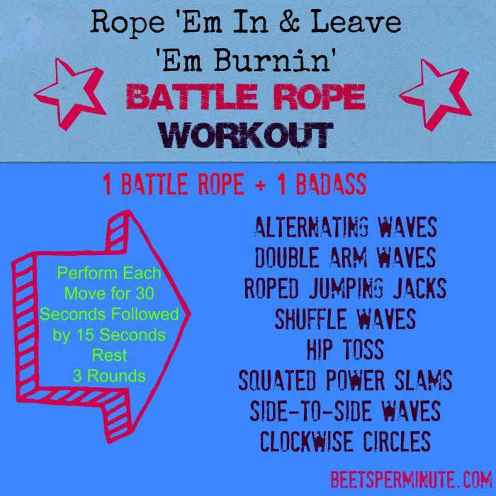 Ideas about battle ropes on pinterest rope