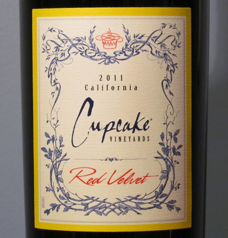 Cupcake Red Velvet Wine - A great sipper on its own.  http://www.honestwinereviews.com/2012/12/cupcake-red-velvet-wine.html