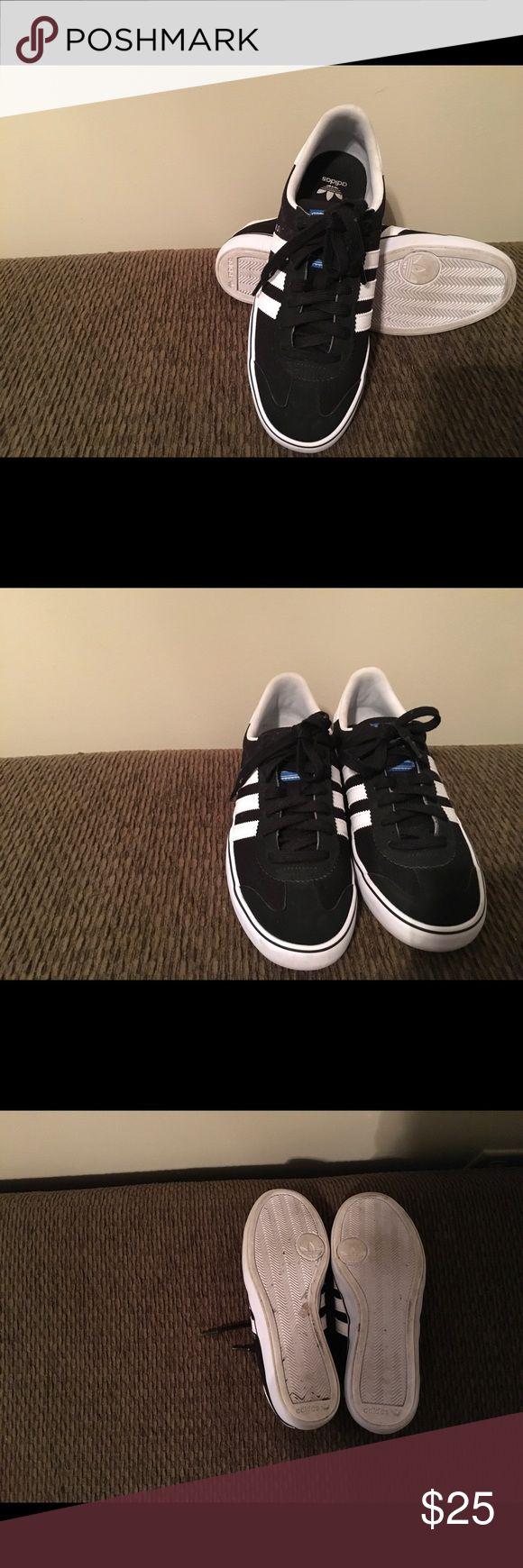 Adidas Somas Black and white Adidas Somas suede adidas Shoes Athletic Shoes