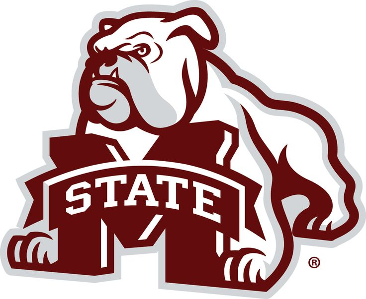Miss State Logo | Mississippi State Bulldogs Secondary Logo (2009) - Bulldog behind 'M ...