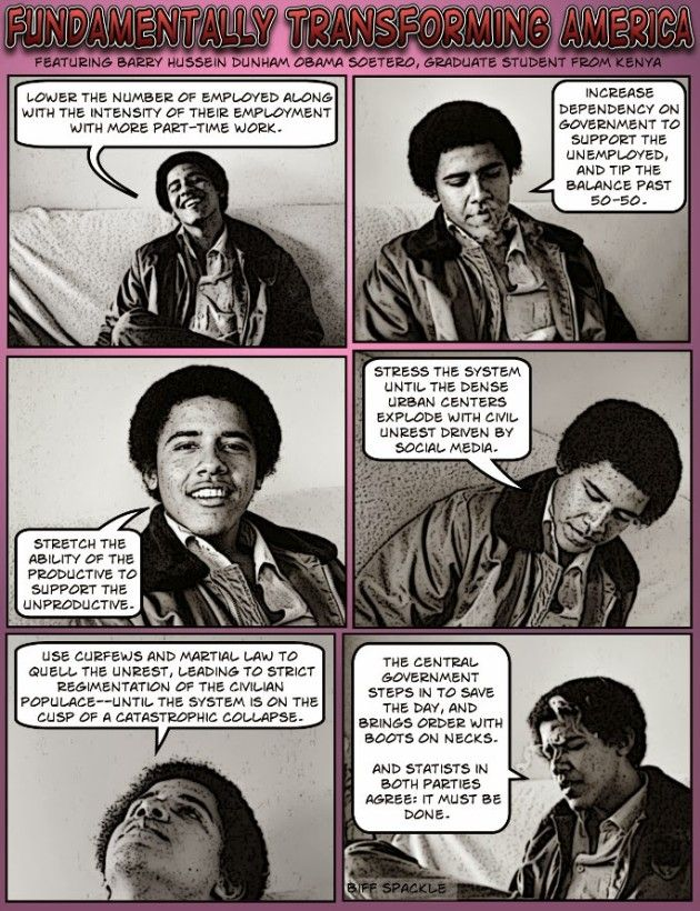 HOW TO DESTROY AMERICA: Barry Sotero explains Cloward-Piven Strategy