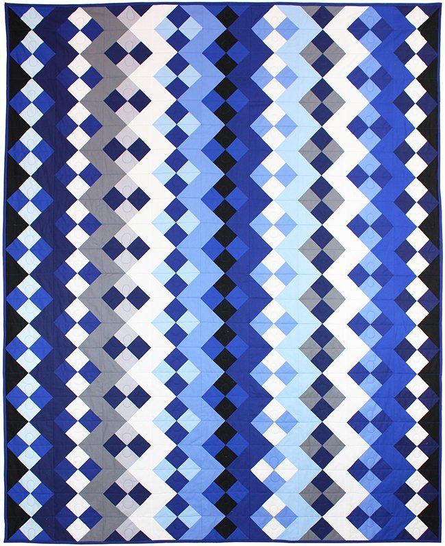 233 Best Blue Quilts Amp Textile Art Images On Pinterest