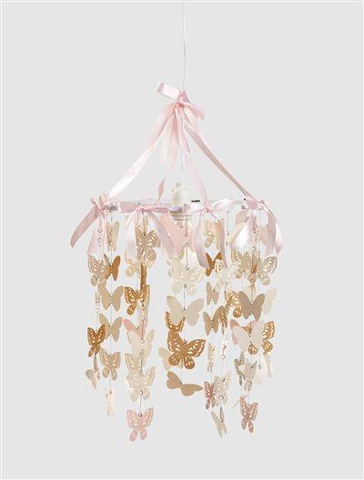 Lampenschirm mit Schmetterlingen SCHMETTERLINGSSCHWARM