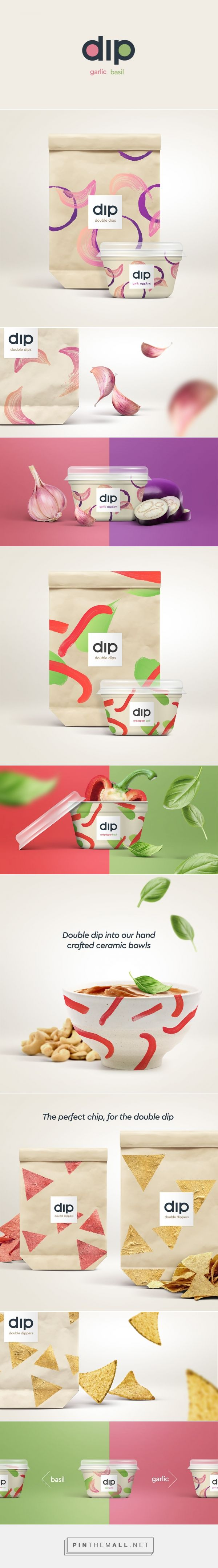 Double Dips Premium Dip Packaging by Joe Temple | Fivestar Branding Agency – Design and Branding Agency & Curated Inspiration Gallery