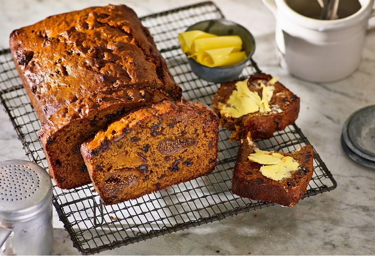 A dense 'n' divine fruit cake that requires no chopping or dicing – you gotta love that!