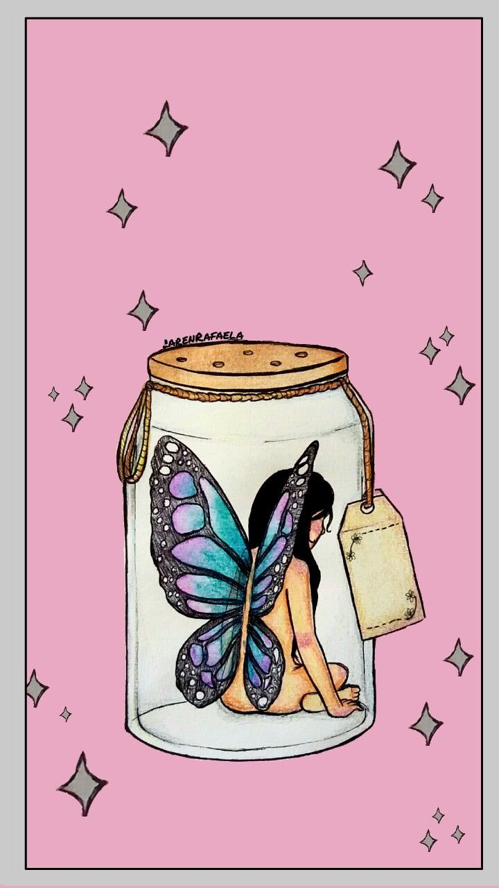 Artista Butterfly Desenhando Desenho Drawing Fada Ilustracao