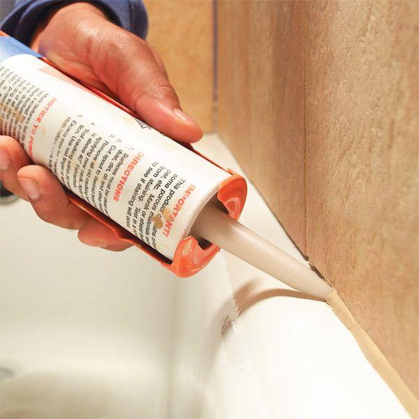 How to achieve smooth caulk.