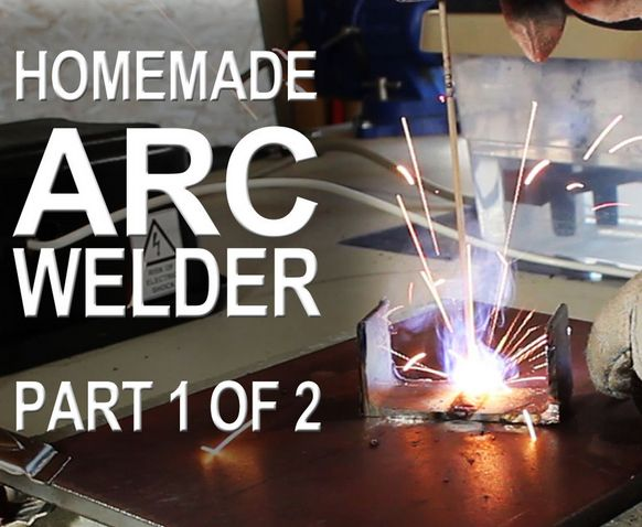 How To Make An Arc Welder- This could come in very handy!