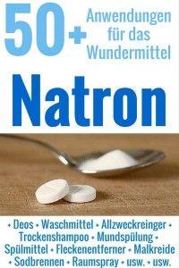 Natron ist vielseitig: als Reiniger, beim Backen, gegen Sodbrennen, gegen Gerüche.... Hilft es gar vorbeugend gegen Krebs? Die wichtigsten Anwendungen hier!