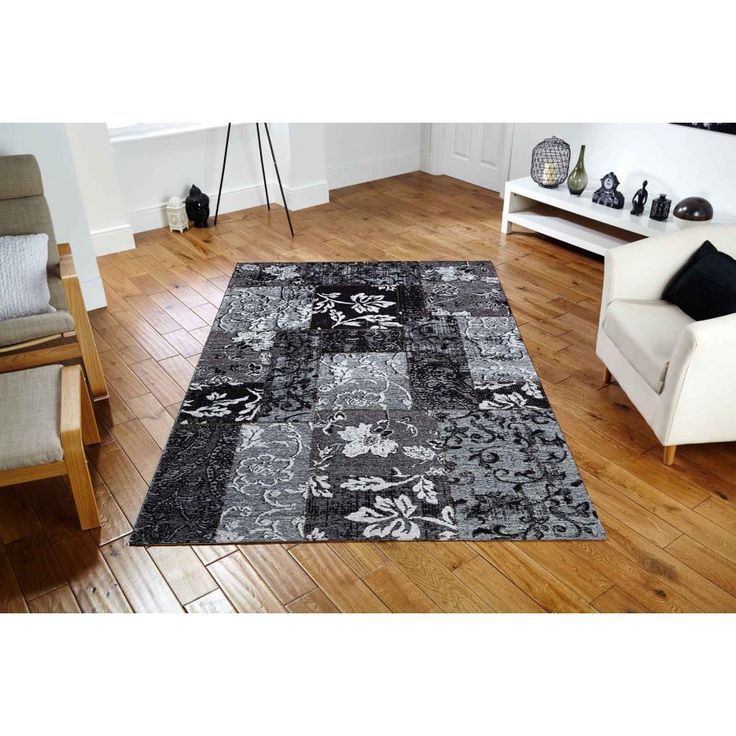 Renaissance Flatweave 21K Designer Rug by Oriental Weavers Renaissance Flatweave 21K Grey Designer Rug. Machine woven in Egypt, this rug is made using a blend of polyester, cotton and acrylic yarns. #cottonrugs #acrylicrugs #polypropylenerugs #durablerugs #blackrugs #charcoalrugs #floralrugs #blackfloralrugs #machinemaderugs