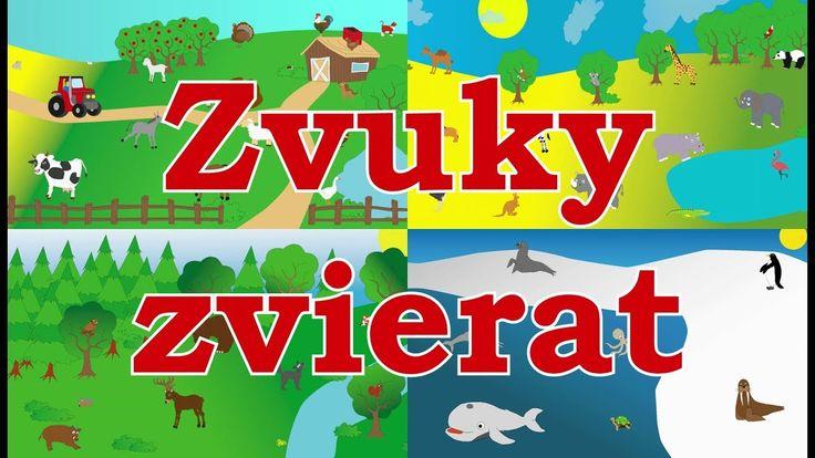 Zvuky zvierat pre deti  - Zvieratká z farmy, Zvieratká z lesa, Zvieratká v ZOO a Morské zvieratká
