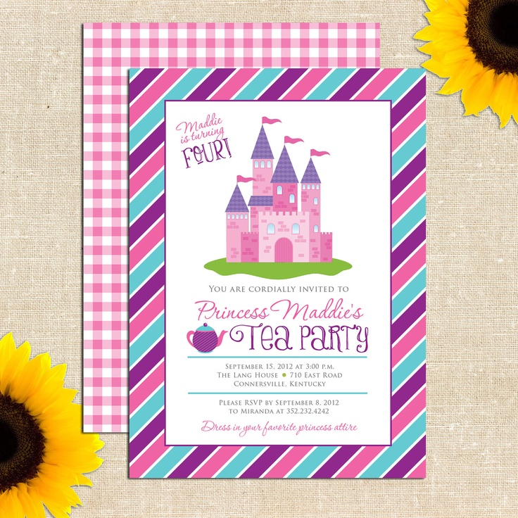 99 Birthday Tea Party Invitation Wording