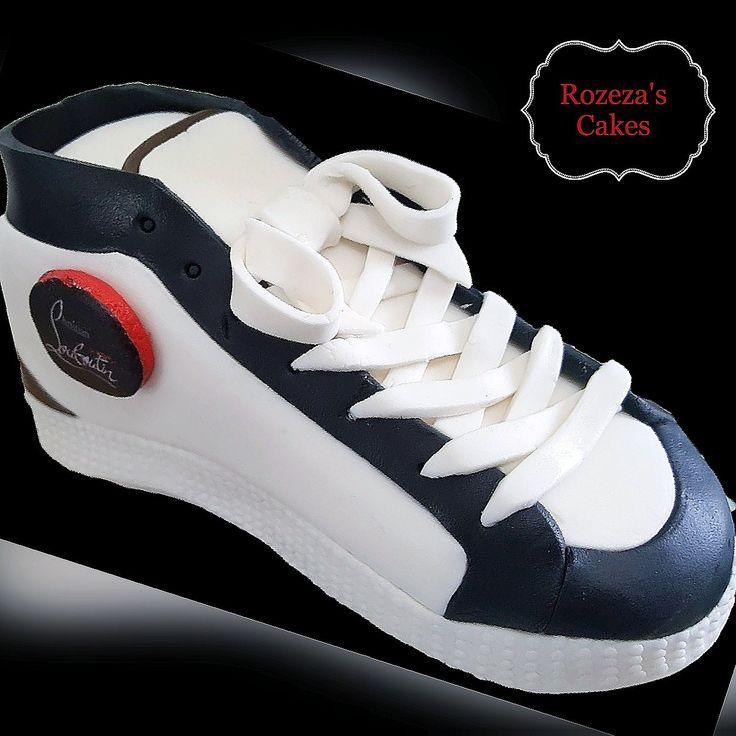louboutin shoe topper