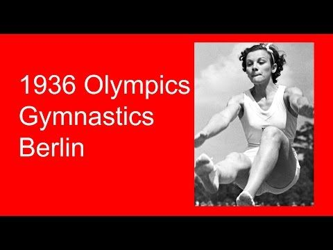 Berlin 1936 Olympics Gymnastics video. The 1936 Olympic Games in Berlin will probably be best remember for being held in Nazi Germany. #gymnastics #history #artisticgymnastics #sports