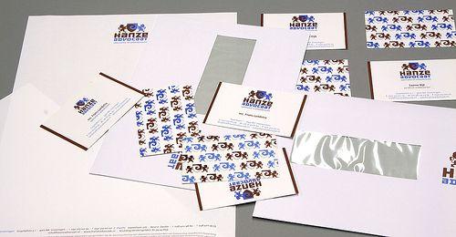 Huisstijl, logo Hanze Advocaat. Ontwikkeld door Dizain (www.dizain.nl).