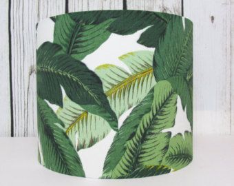 Leaves Lampshade Floral Botanical by Tommy Bahama