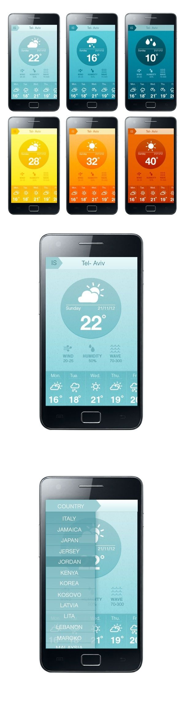 8 best Weather App Research images on Pinterest | User interface ...