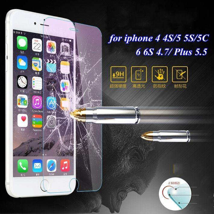 0.3mm Ultrathin Tempered ᑎ‰ Glass Protector Clear Case for ჱ Apple iphone 4 4S 5 5S 5C /6 6S /Plus Protective Film Cover Accessories0.3mm Ultrathin Tempered Glass Protector Clear Case for Apple iphone 4 4S 5 5S 5C /6 6S /Plus Protective Film Cover Accessories