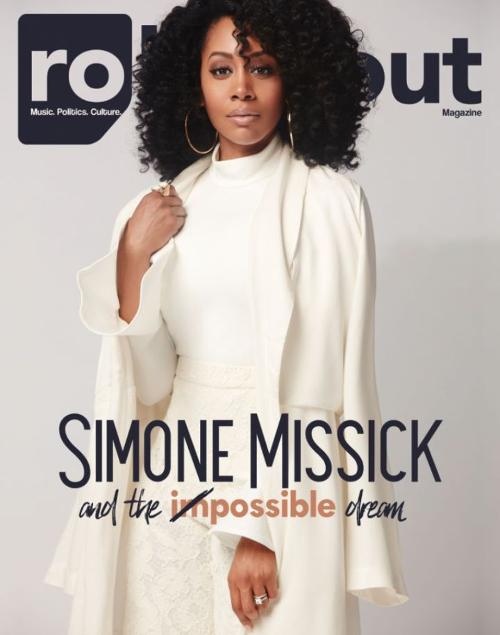 Editorial: Simone Missick for Rolling Out Magazine February 2017 – Art Becomes You