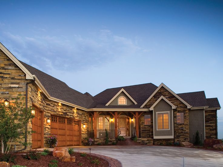 17 best images about house plans w angled garage on for Mountain top house plans