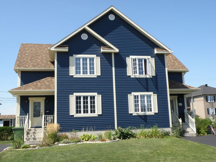Pacific blue colour steelside steel siding siding for Blue siding house