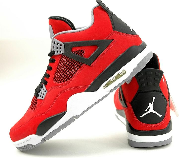 Nike Air Jordan 4 Retro IV Toro Bravo Fire Red 308497 603 Nubuck 2013 Ship Today | Jordans, Nike air jordans and Nike
