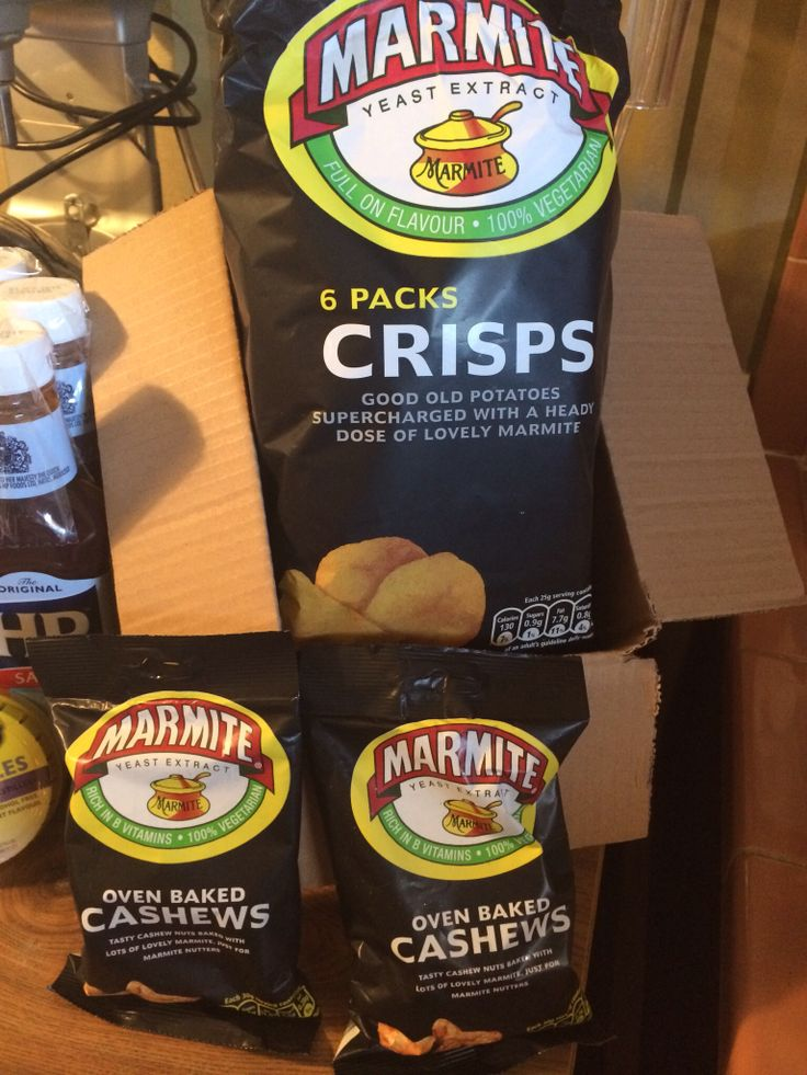Marmite Crisps and cashews!!! Cheers!!!