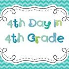 This is a great way to celebrate the fourth day in fourth grade!  There are 32 different task cards that all involve the number four.  This is a gr...