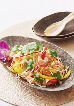 イオンのレシピ | ソムタム(青パパイヤサラダ) おすすめレシピ