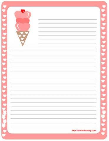 422 best Stationery images on Pinterest Article writing, Leaves - printing on lined paper