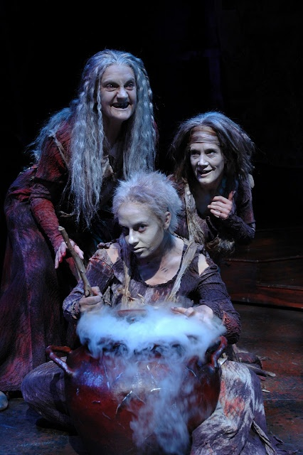 Three weird sisters came to macbeth