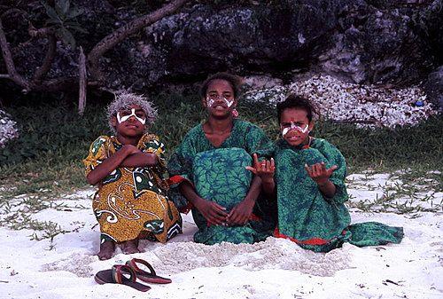 Young Kanak Girls photo